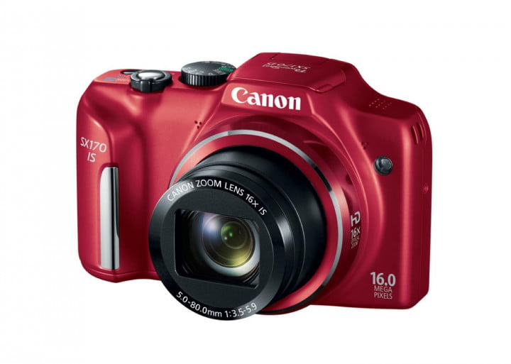 canon powershot g  s sx hs is hr red qfront cl