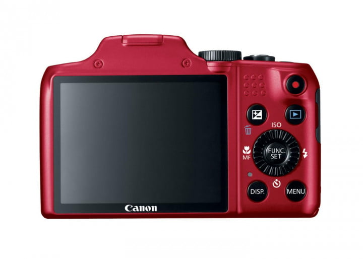 canon powershot g  s sx hs is hr red back cl