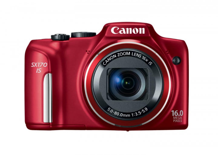 canon powershot g  s sx hs is hr red front cl
