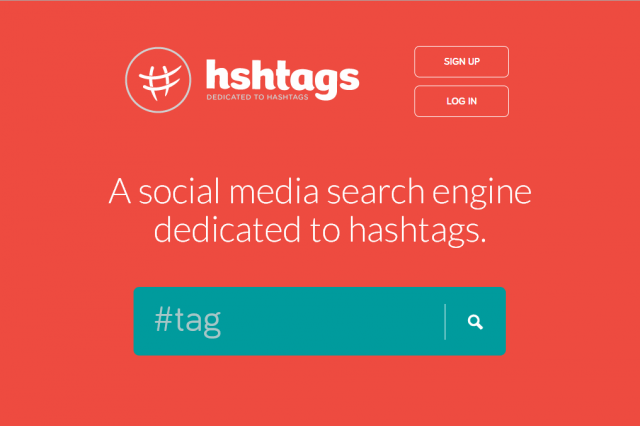 new search engine like google social web hshtags