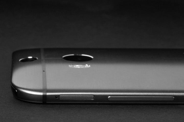 htc one m  review top profile