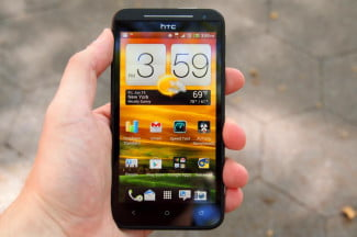 HTC EVO 4G LTE review home screen htc touch interface smartphone