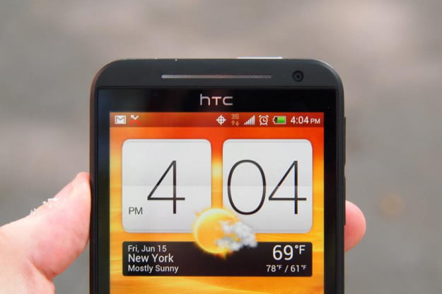 HTC EVO 4G LTE review top half status icons 3g