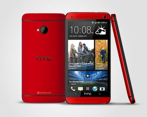 HTC One Glamour Red