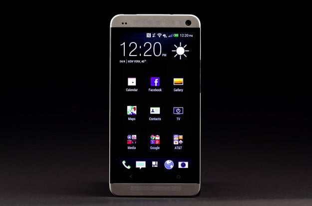 htc one home screen