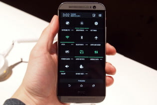 HTC One M8 hands on settings