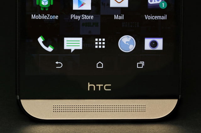 htc m  ace news one harman kardon edition bottom screen
