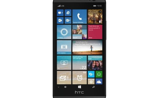 HTC One M8 Windows Phone press image
