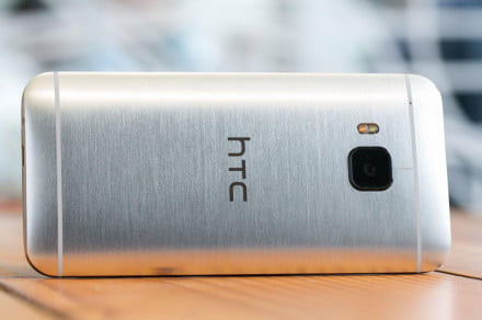 HTC One M9 back