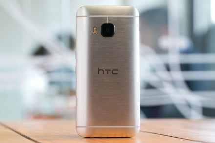 HTC One M9 back vertical