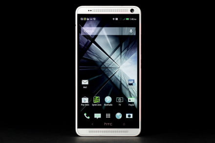 HTC One Max home