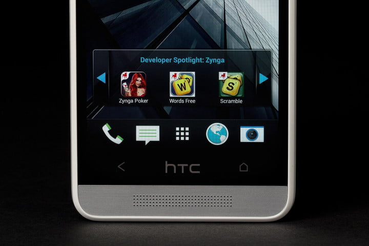 htc one mini review bottom screen speakers