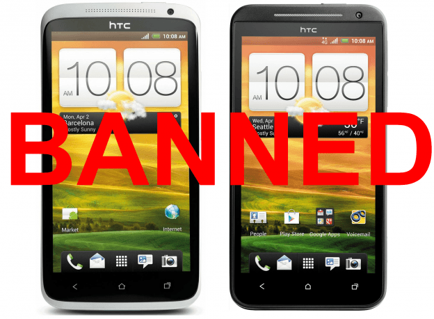 HTC EVO 4G LTE and HTC One X delayed by US Customs