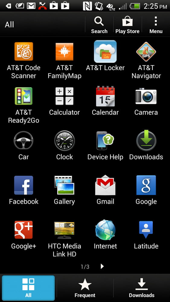 HTC One X Plus review screenshot apps