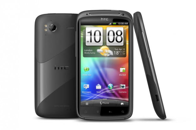 HTC Sensation 4G front side