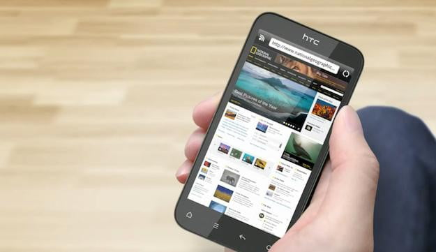 htc sense 3.5 browser