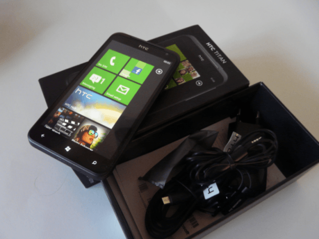 htc titan unboxed