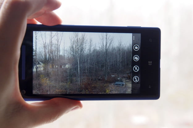 HTC Windows Phone 8X review camera app windows 8