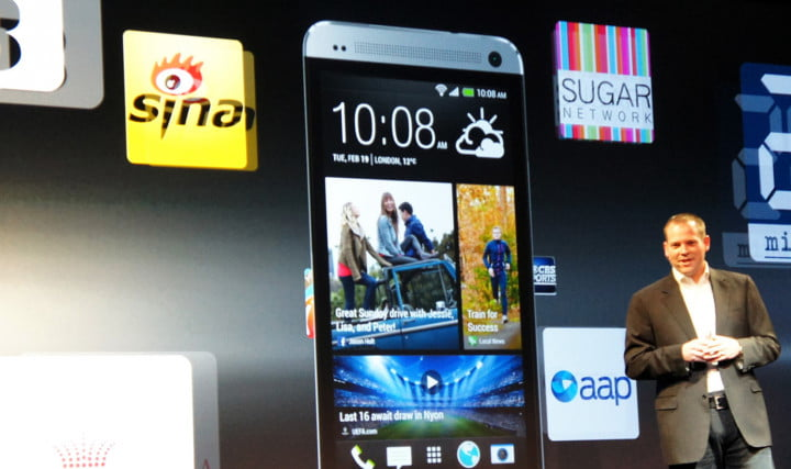 htc reveals the one  app screen