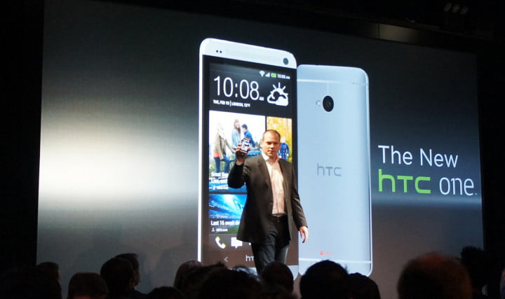 htc reveals the one  event