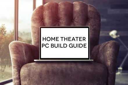 Home Theater PC on Couch Header