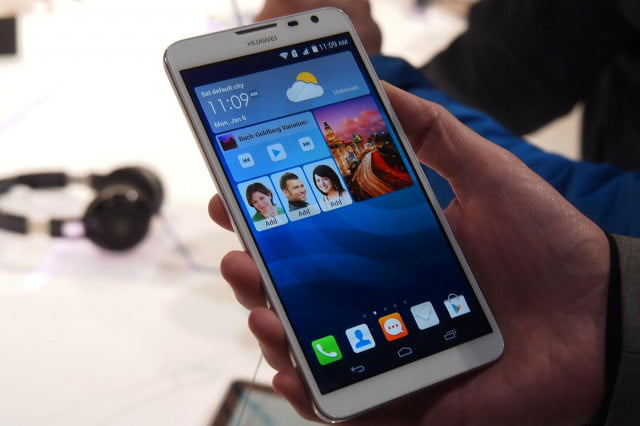 huawei ascend mate  successor reportedly outed g home screen