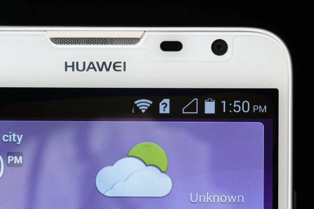 huaweis future windows phone product development put hold huawei ascend mate  top left screen