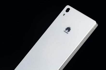 Huawei Ascend P7 review angle 2