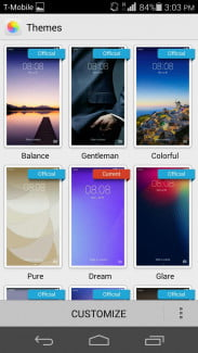 Huawei Ascend P7 Themes