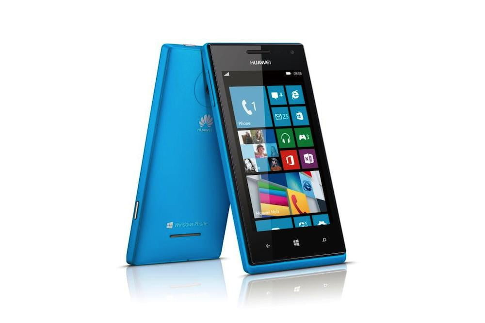 huawei commits to windows phone ascend w  blue