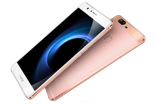 huawei honor v  news front
