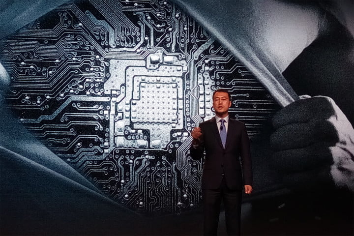 Huawei President Kevin Ho