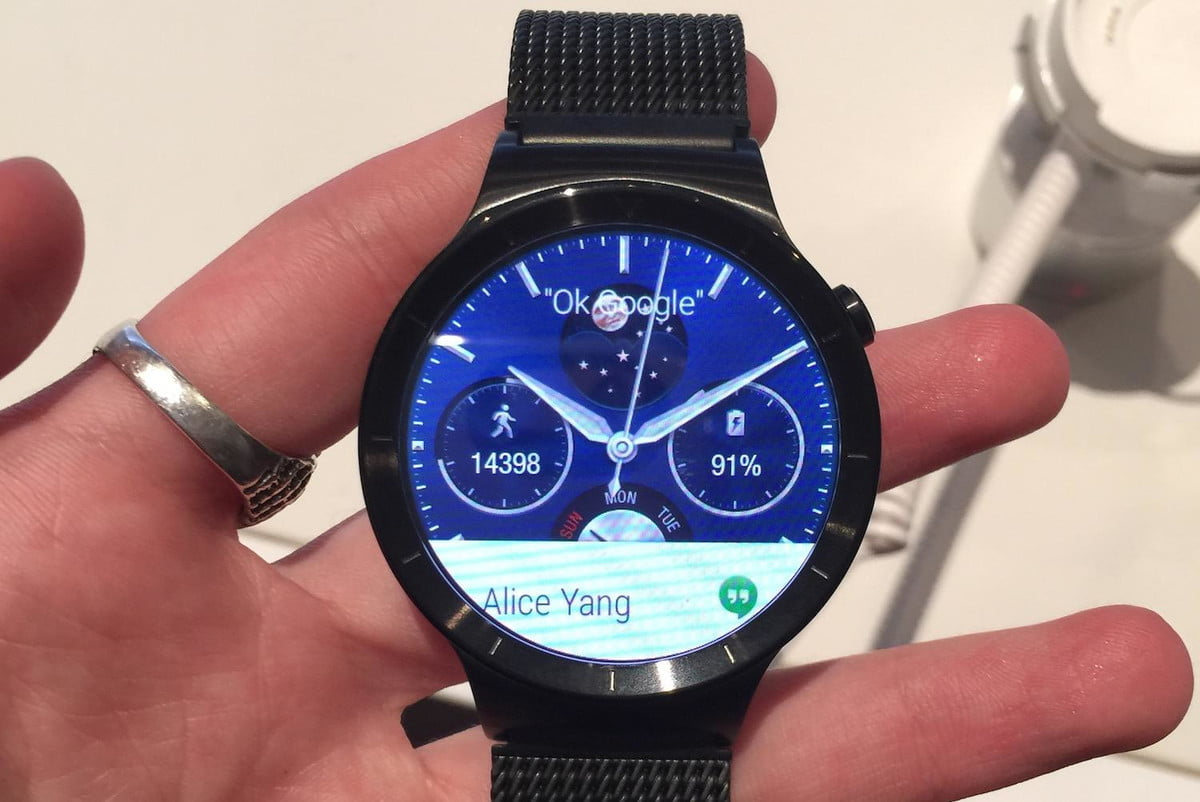 huawei android wear customization watch