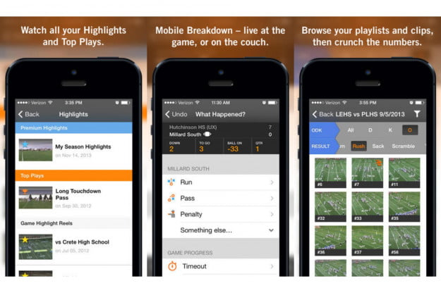 Hudl Best iPhone Apps