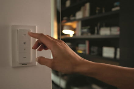Hue philips wireless dimming kit switch hand