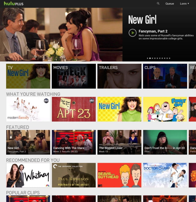 hulu plus for android tablets