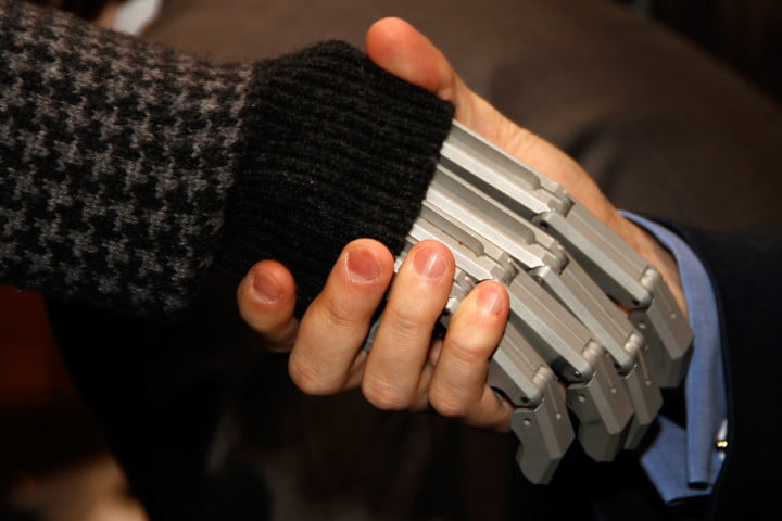 dmitry itskov  initiative human robot handshake