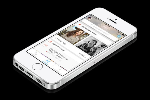 humin gives iphone contacts human touch app