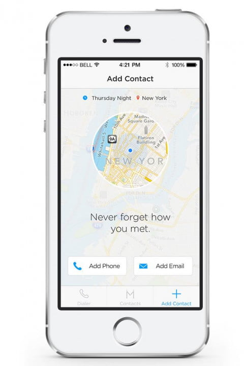 humin gives iphone contacts human touch app meet