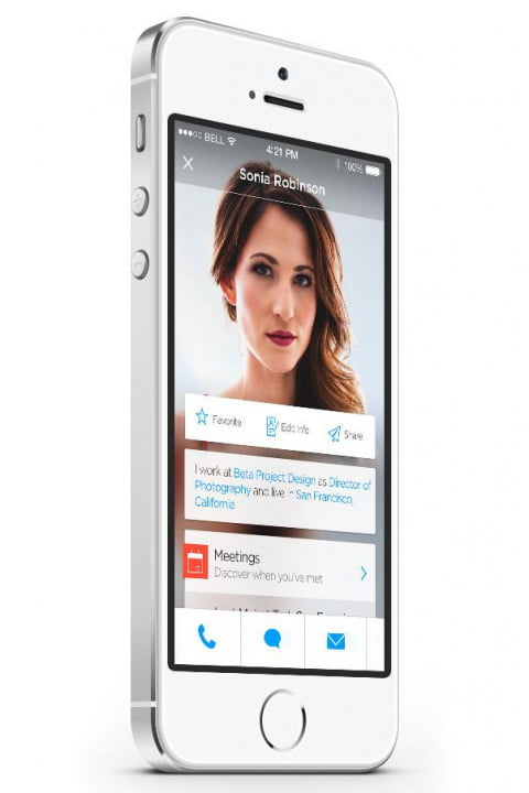 humin gives iphone contacts human touch app profile