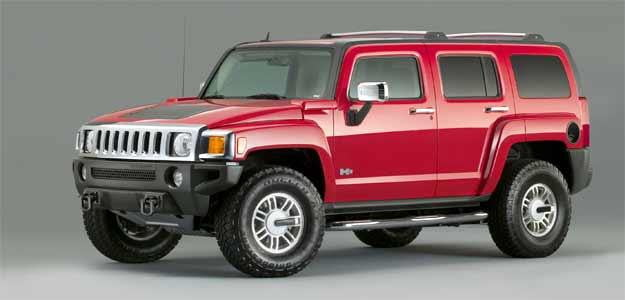 hummer h3 bad name suv