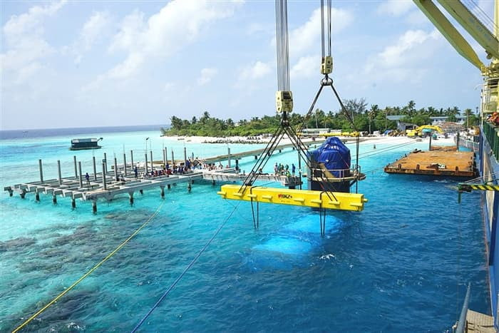 maldives worlds largest underwater restaurant the will soon be home to world s