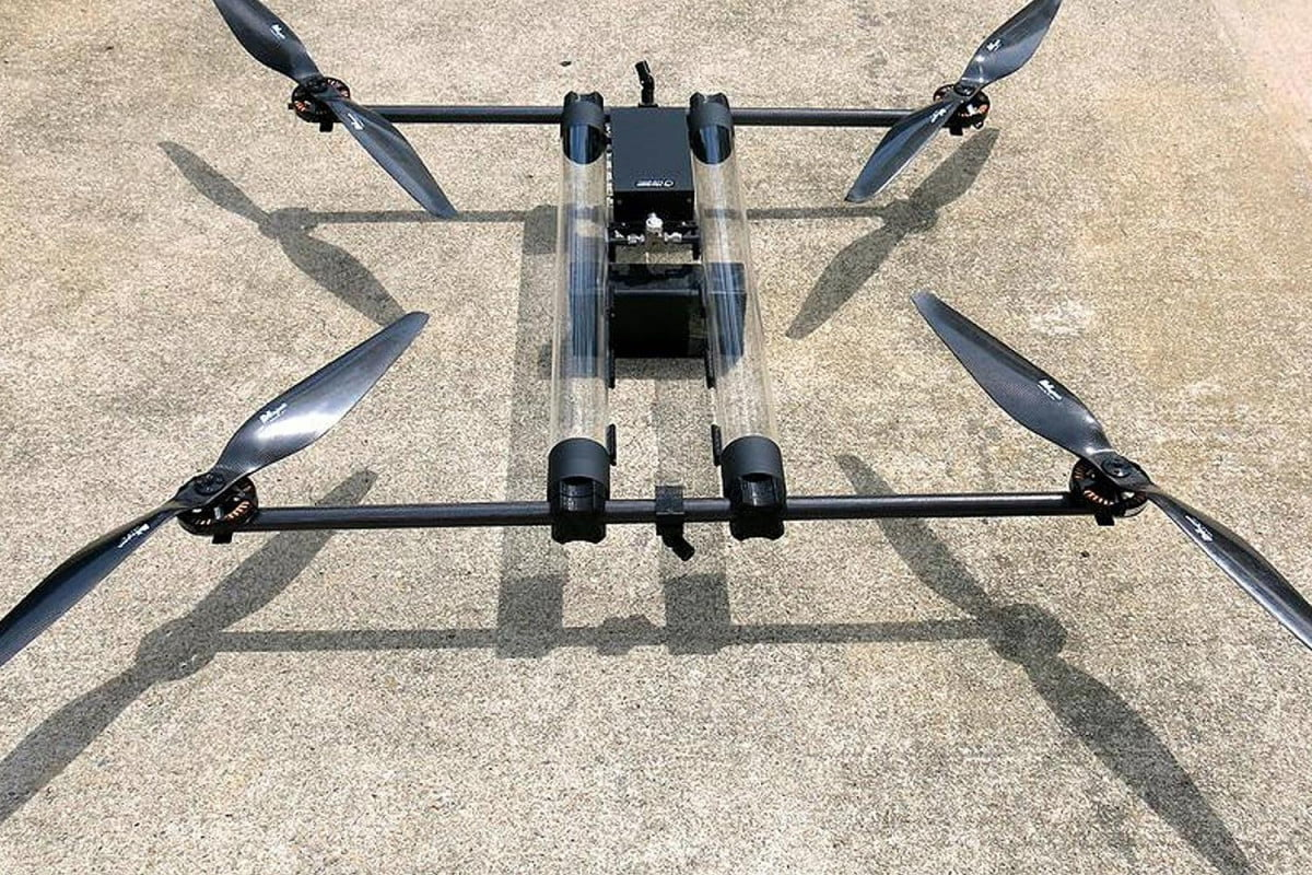 hycopter hydrogen powered drone