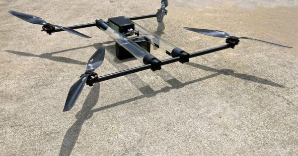 This hydrogen-powered drone can theoretically fly for four hours straight