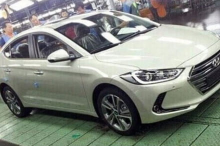 2016 Hyundai Elantra (Korean version) spy shot