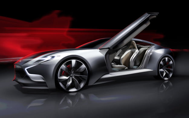 Hyundai HND 9 concept front side