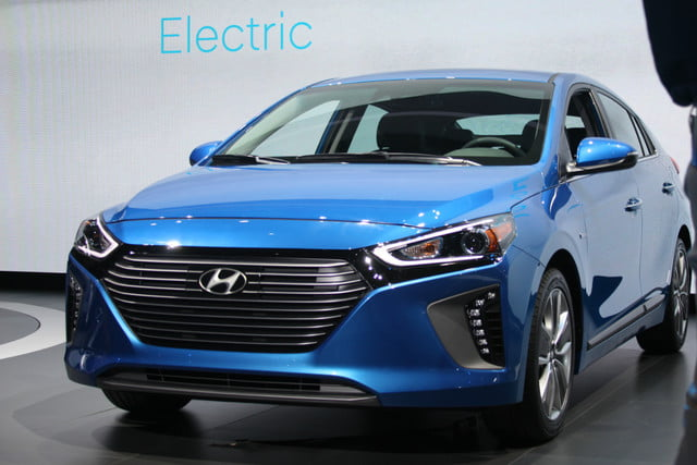 electric cars automation battery environment hyundai ioniq nyias