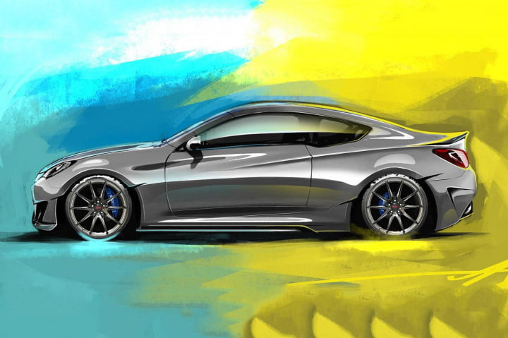 hyundai is taking sema by storm releases the legato concept side