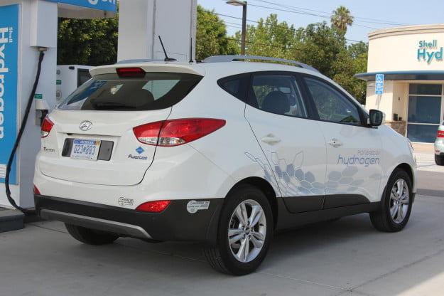 Hyundai Tucson Fuel Cell right side
