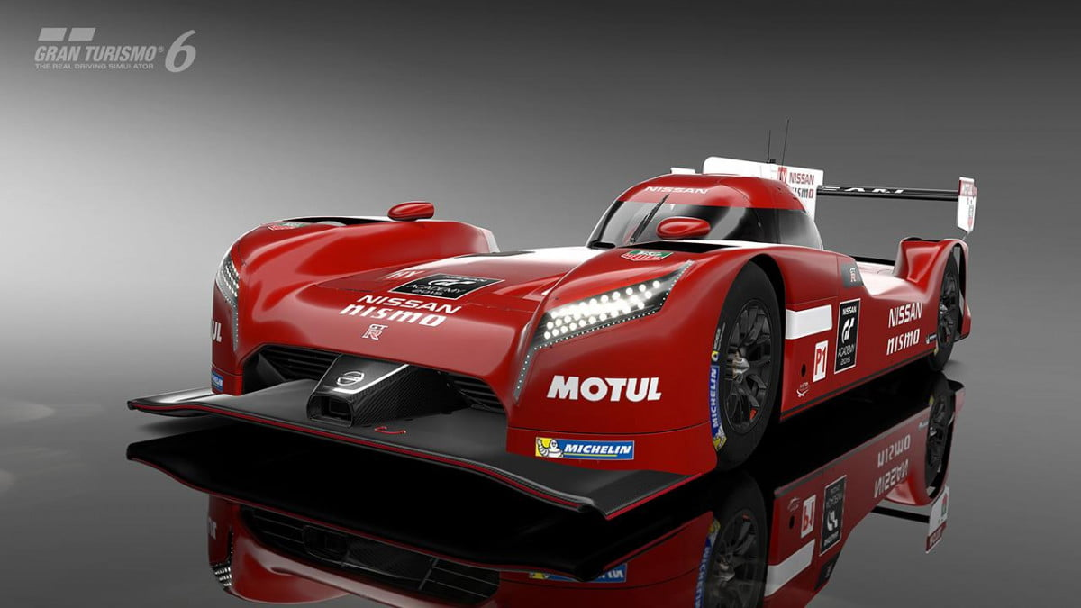 nissan gt r lm race car available in gran turismo